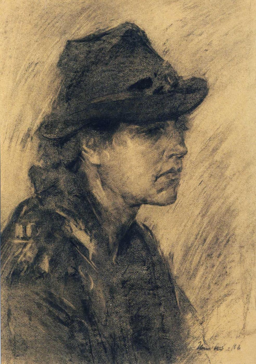 Sergey Fedorovich Shishko. Portrait of the wife