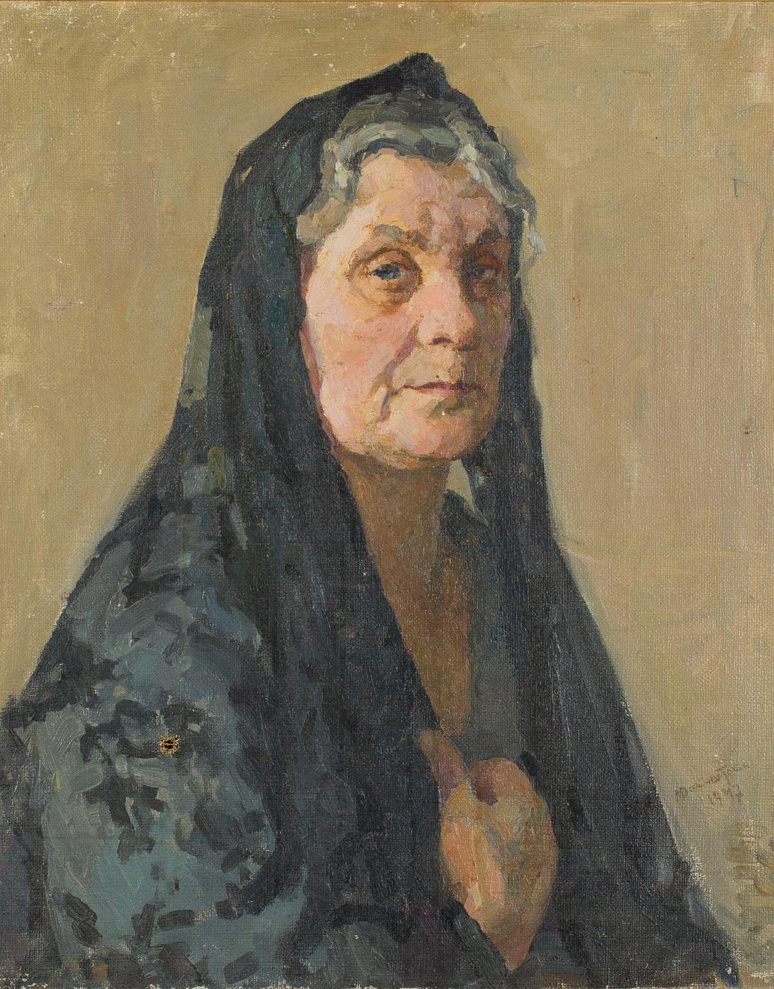 Mark Grigorievich Weinstein. Portrait of the artist's wife