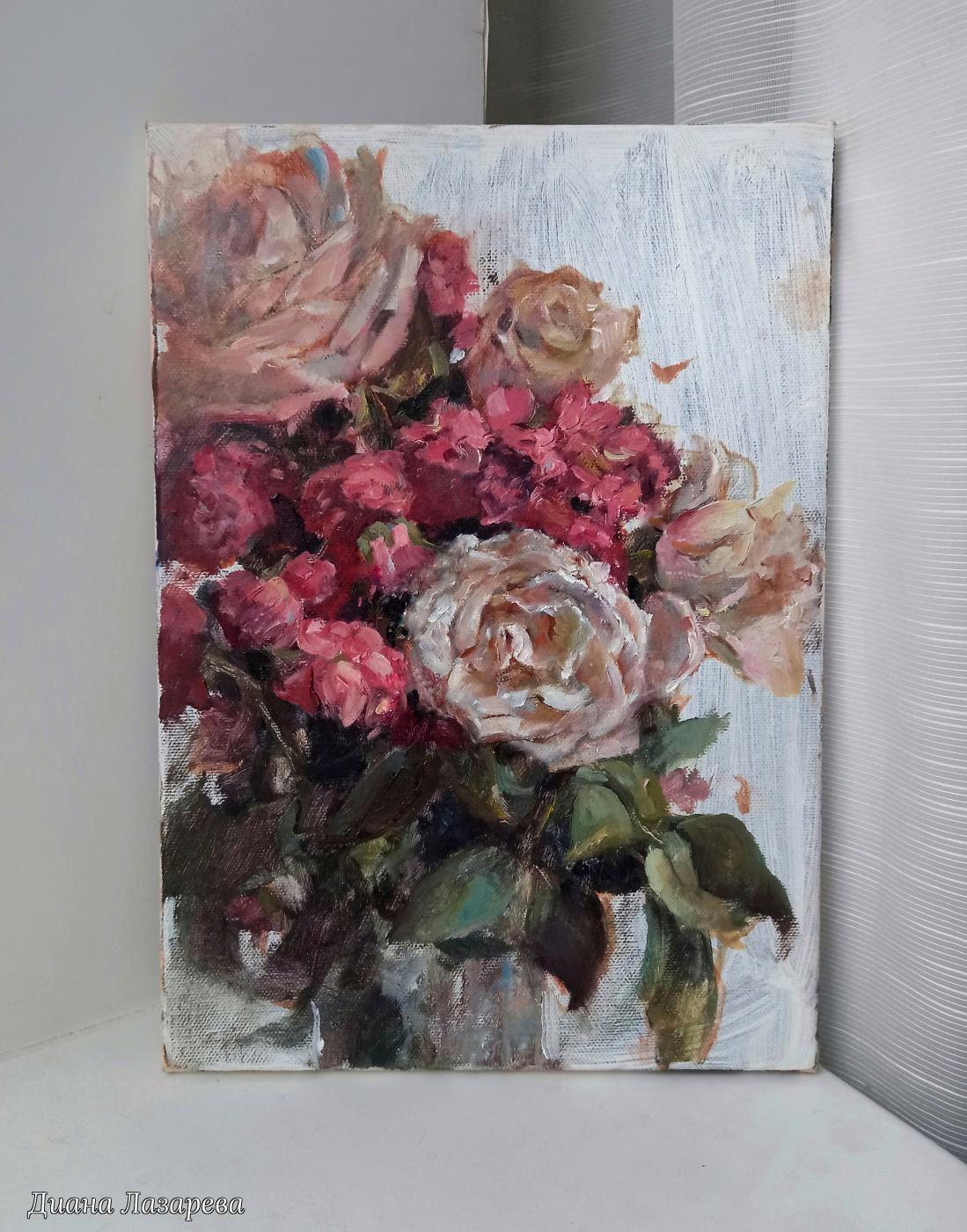 Диана Лазарева. Розы