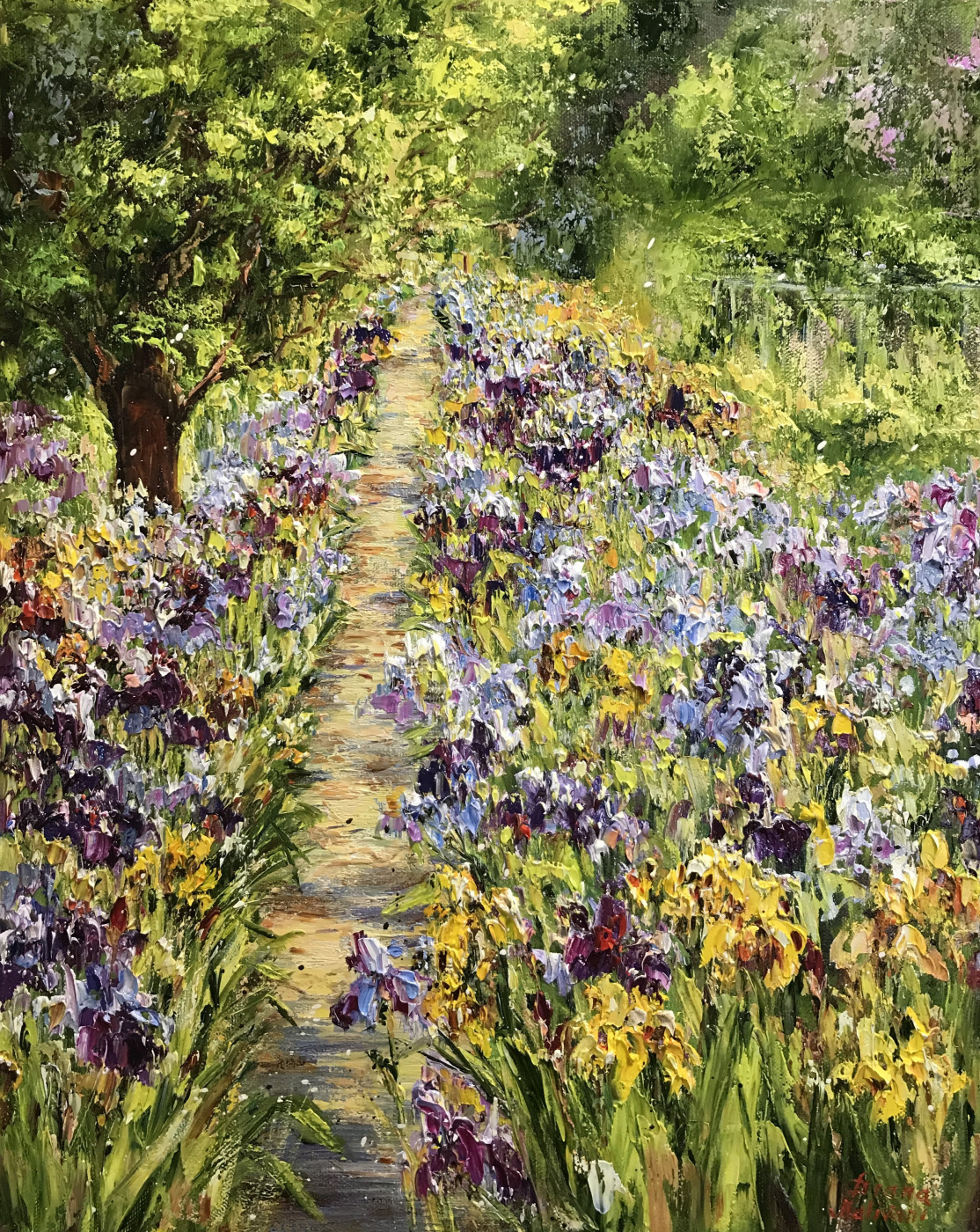 Диана Владимировна Маливани. A Path in the Garden