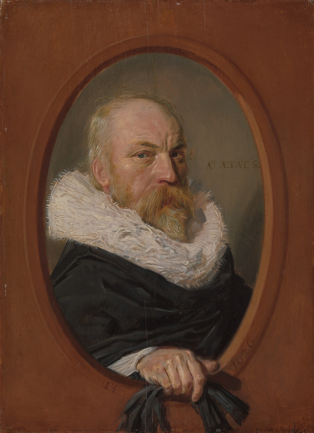 Frans Hals. Portrait Of Petrus Scriverius