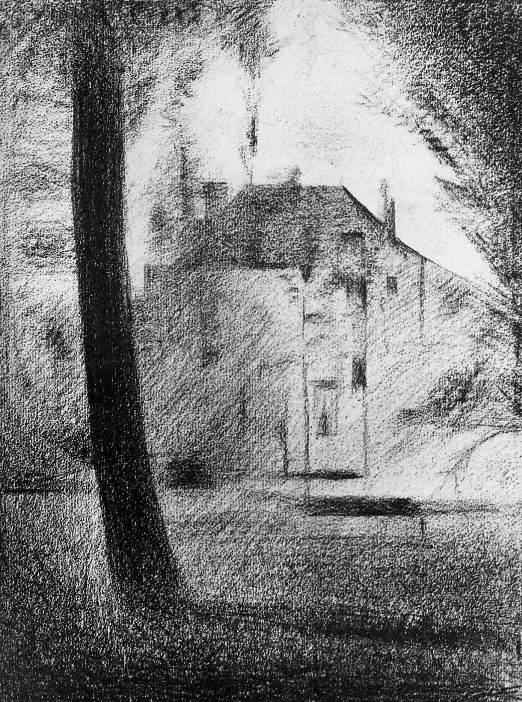 Georges Seurat. Castle in the Park