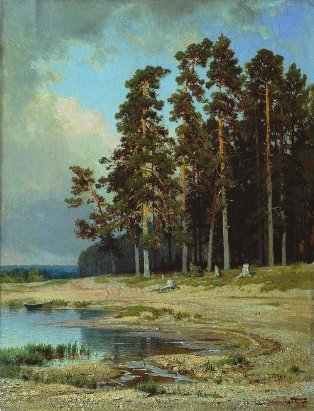 Ivan Shishkin. Forest