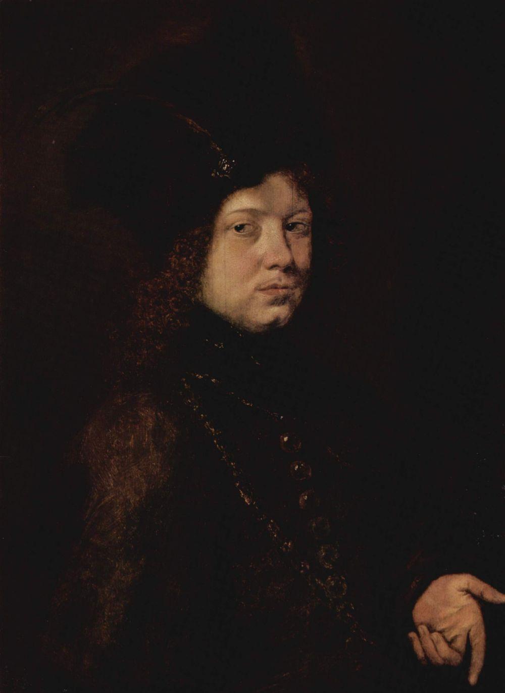 Paudis Christophe. Portrait of a young man