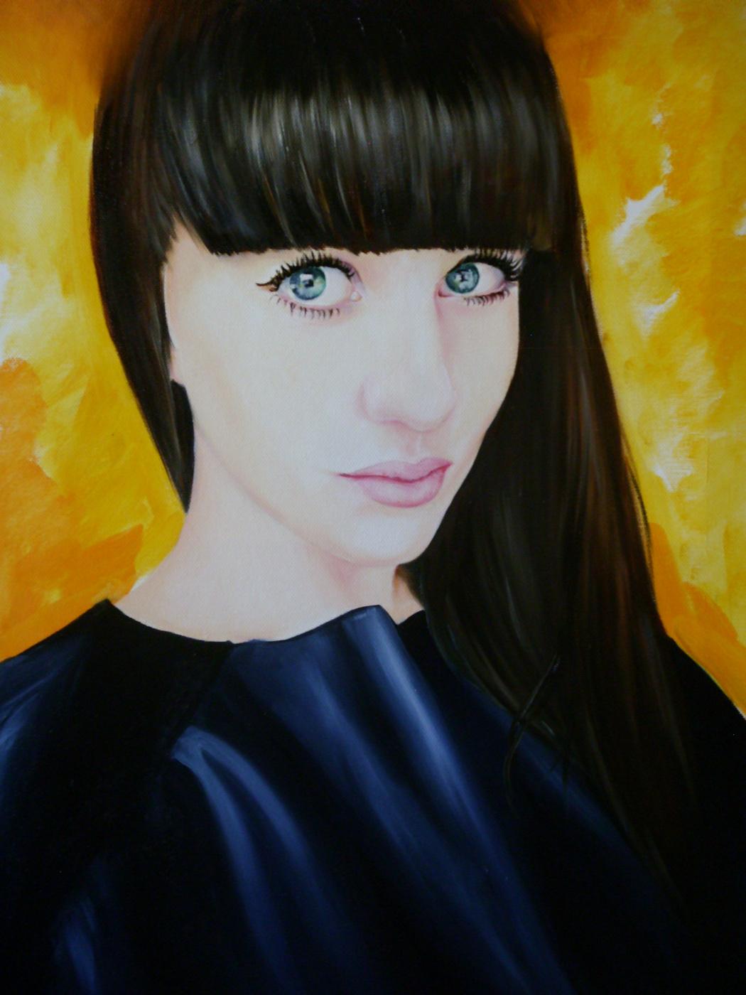 Хельга Эдуардовна Григорьева. Canvas, oil.