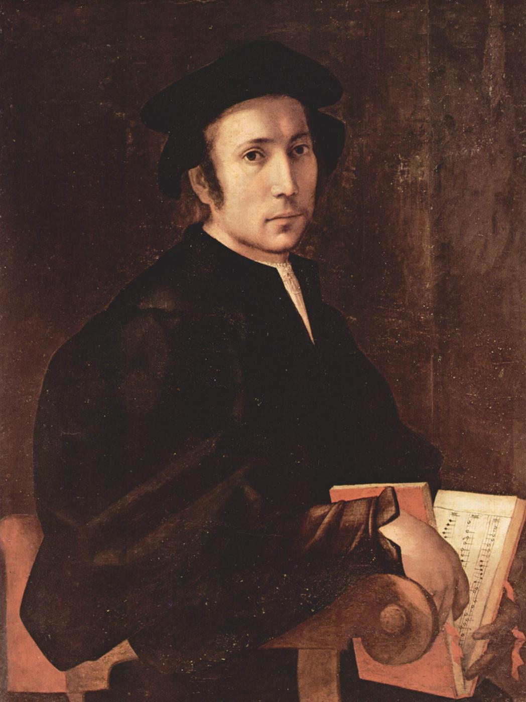 Jacopo Pontormo. Portrait of a musician