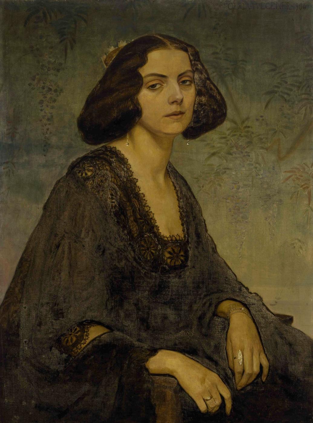 Gerda Wegener. Portrait of Ellen von Kohl
