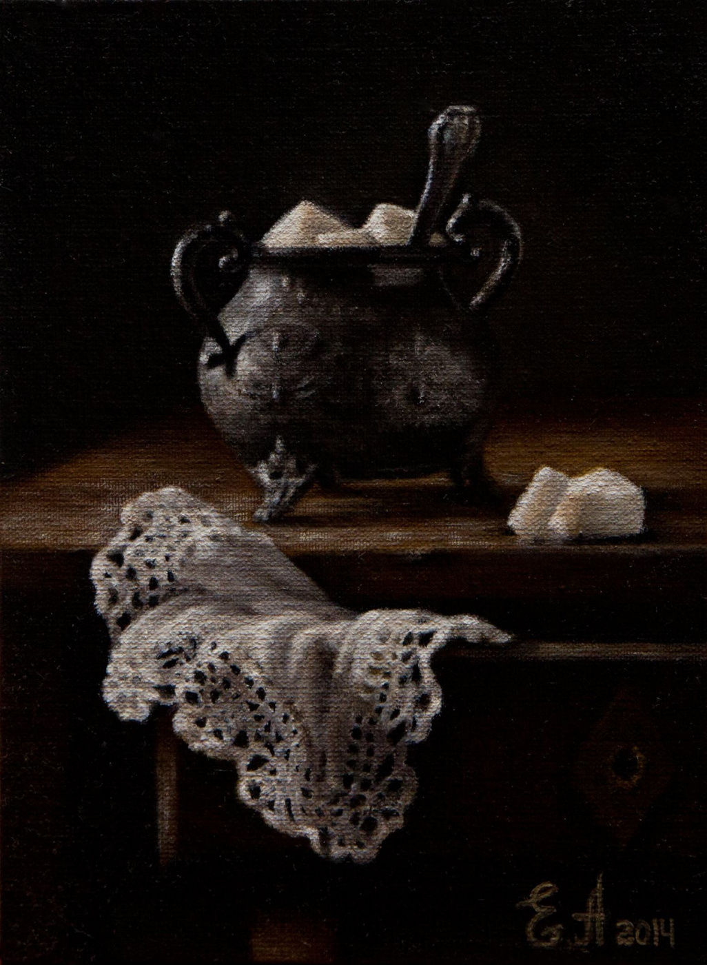 Elena Andrievskaya. Sugar bowl
