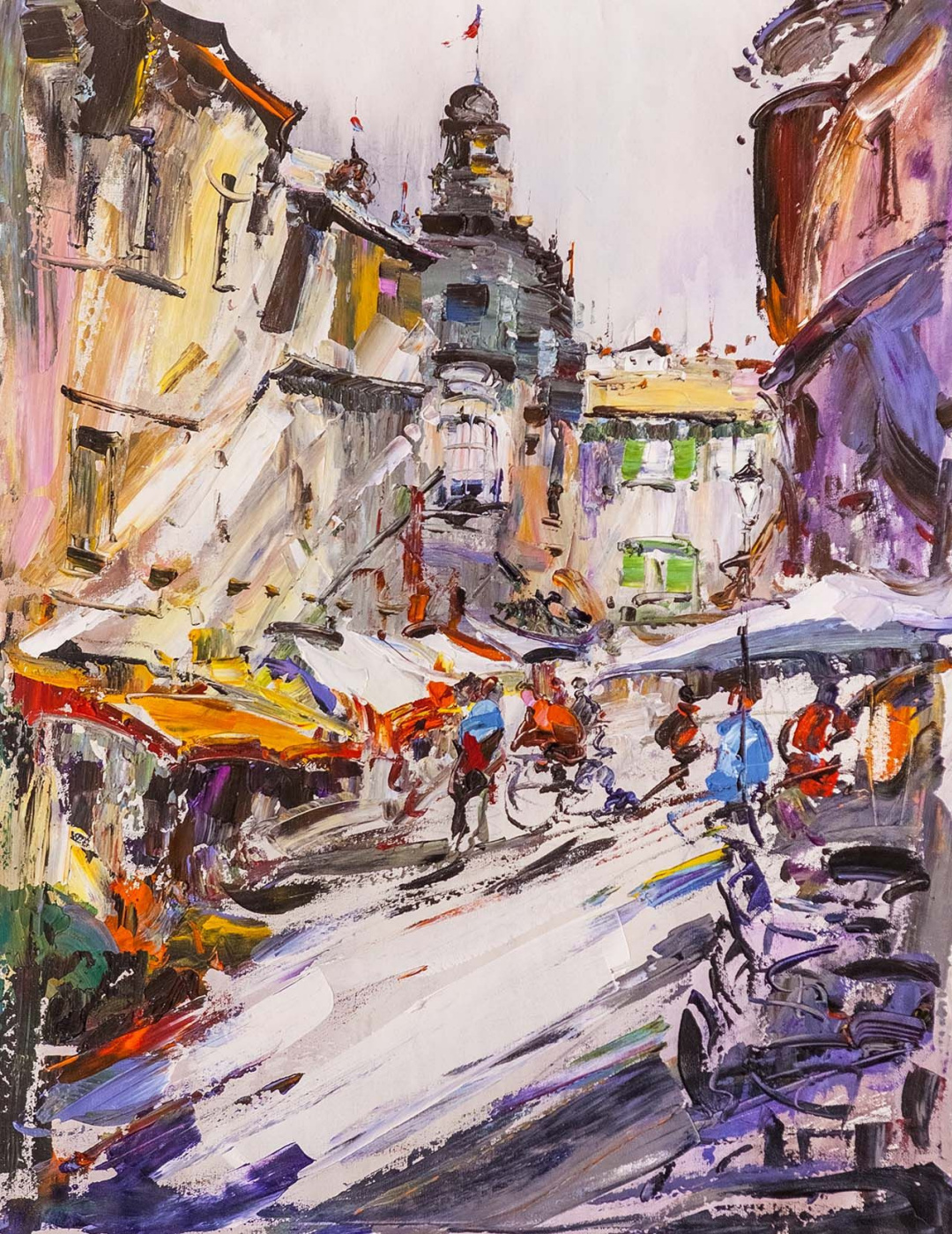 Jose Rodriguez. Walking through the noisy city ... Traveler's sketches
