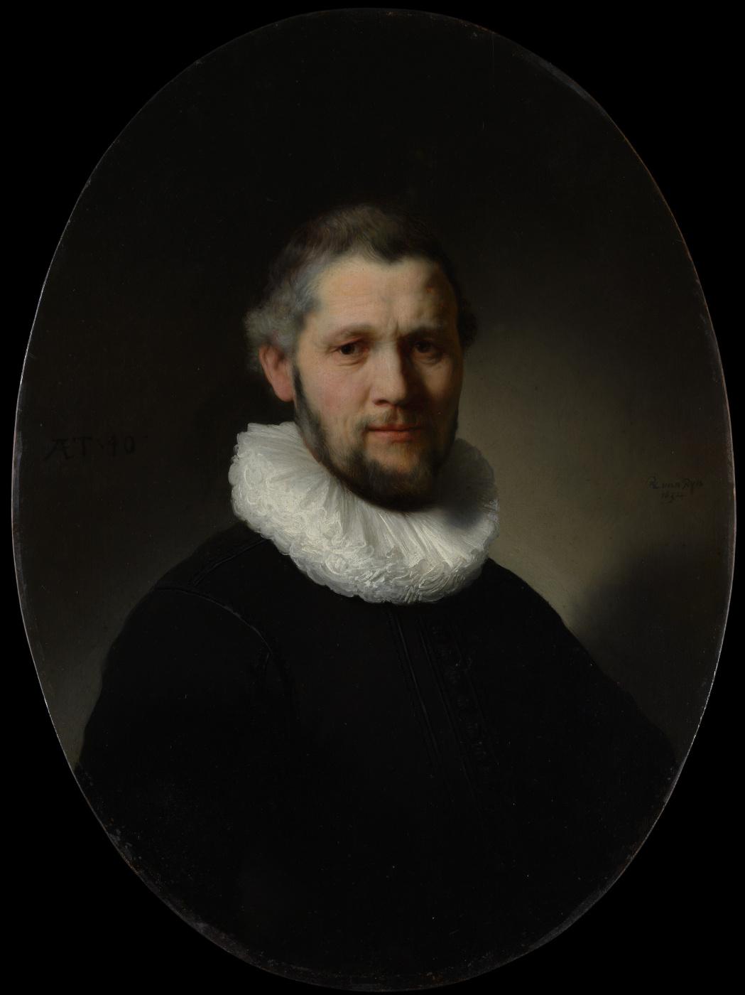 Rembrandt Harmenszoon van Rijn. Portrait of a Man