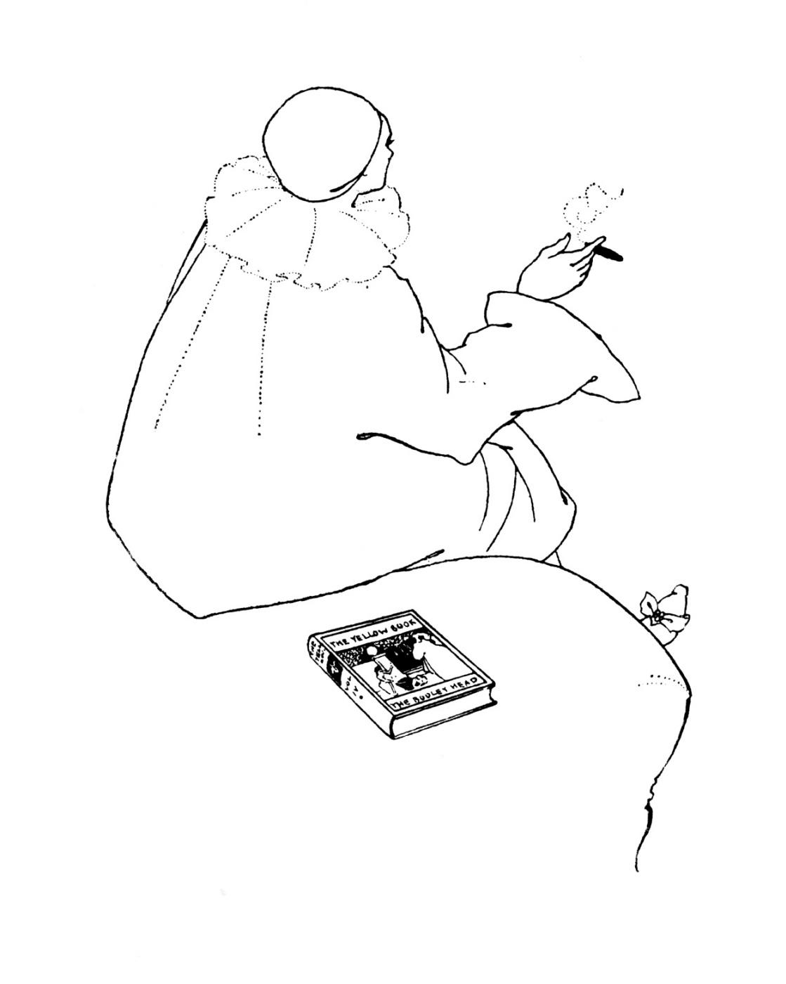 Aubrey Beardsley. The Yellow Book Magazine