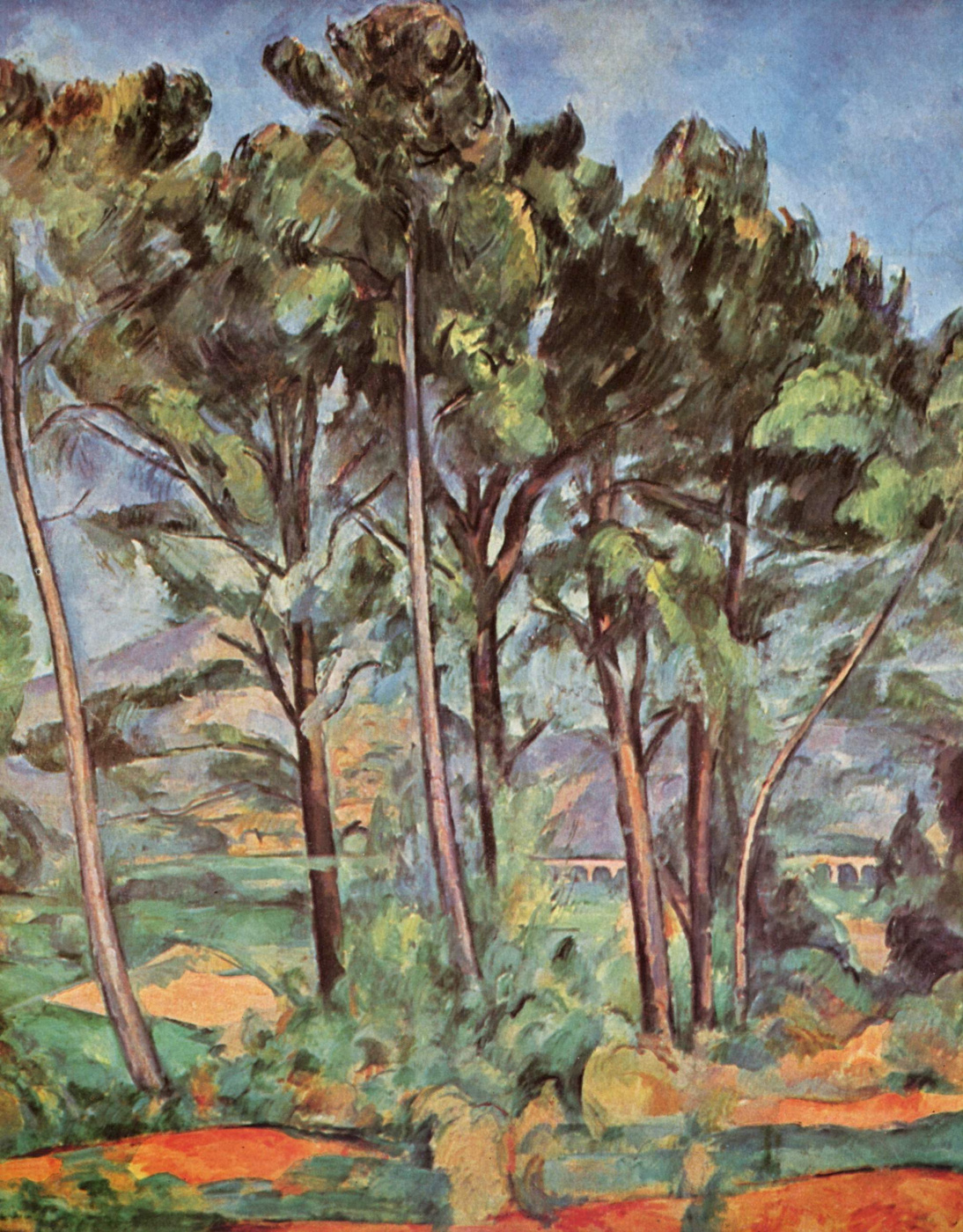 Paul Cezanne. Viaduct