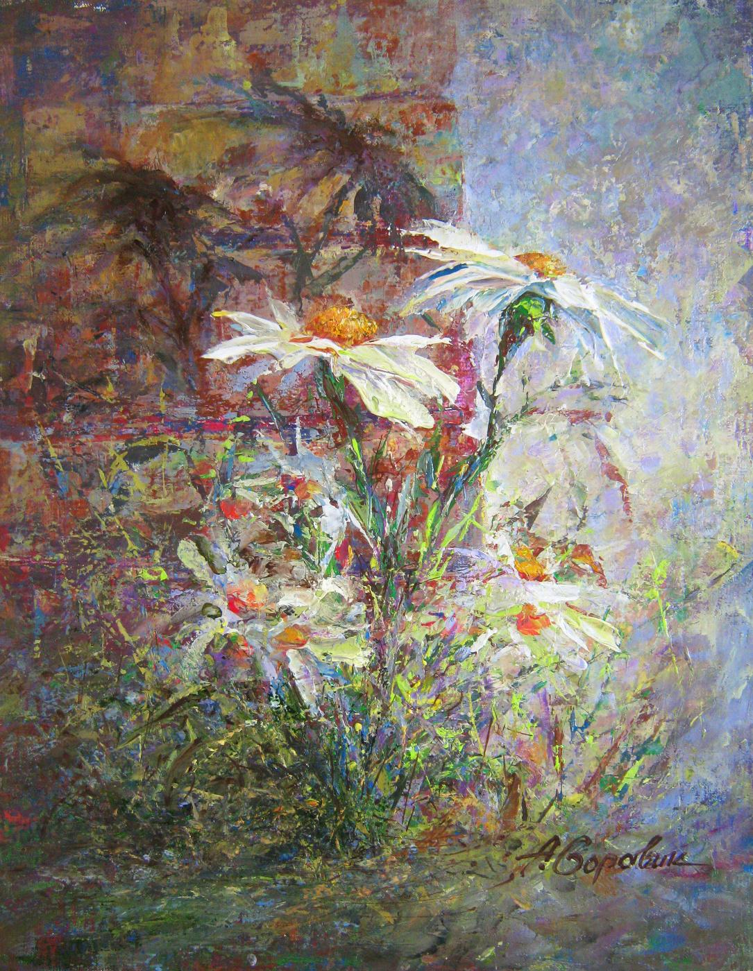 Andrei Ivanovich Boravik. City Flowers, Daisies