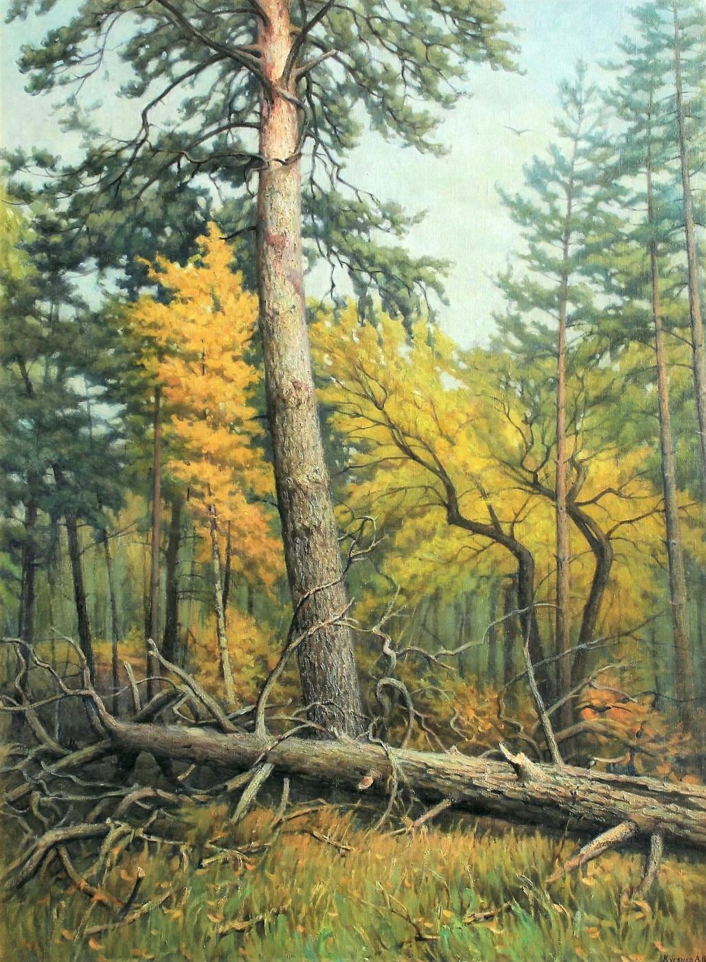 Kusenko Vladimirovich Vladimirovich. Mixed forest. Pine