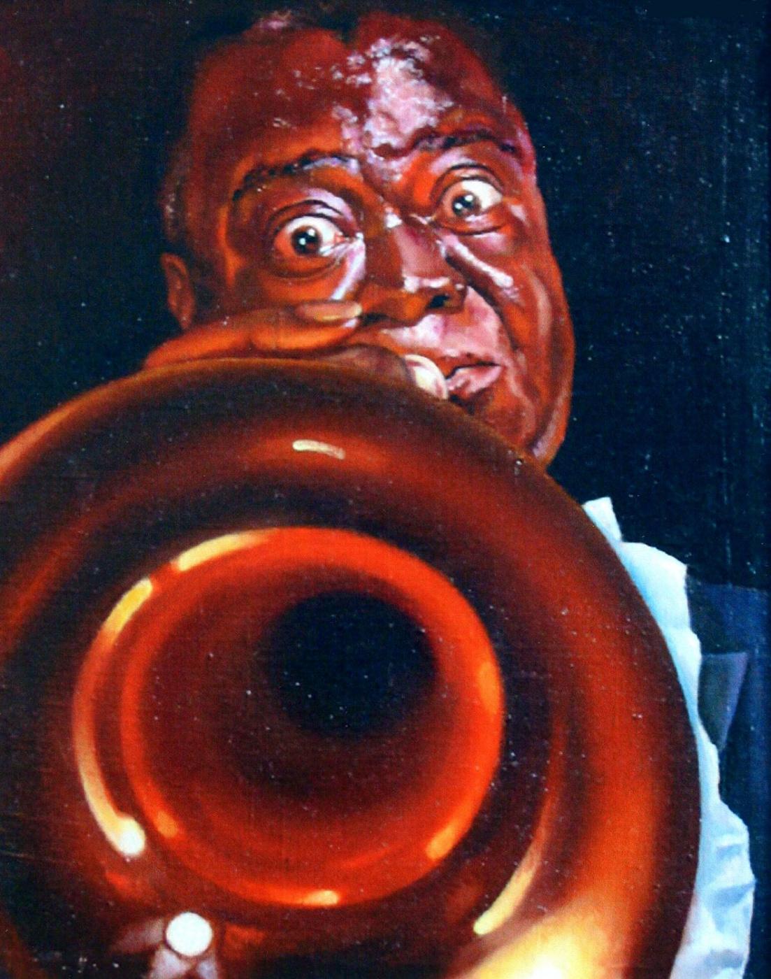 Vladimir Vasilyevich Abaimov. Satchmo (Louis Armstrong) 2