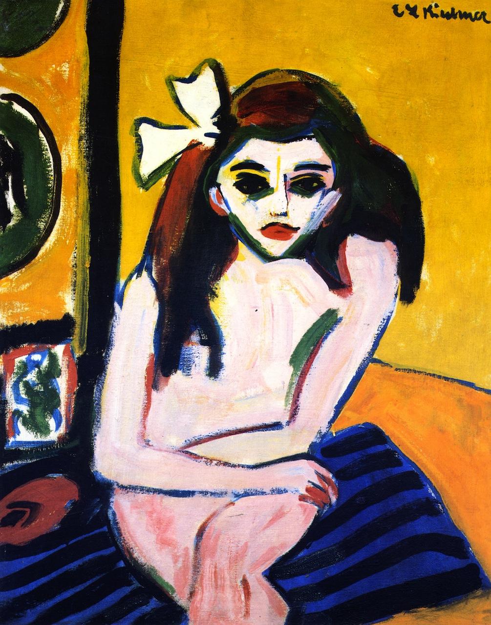 Ernst Ludwig Kirchner. Marcela