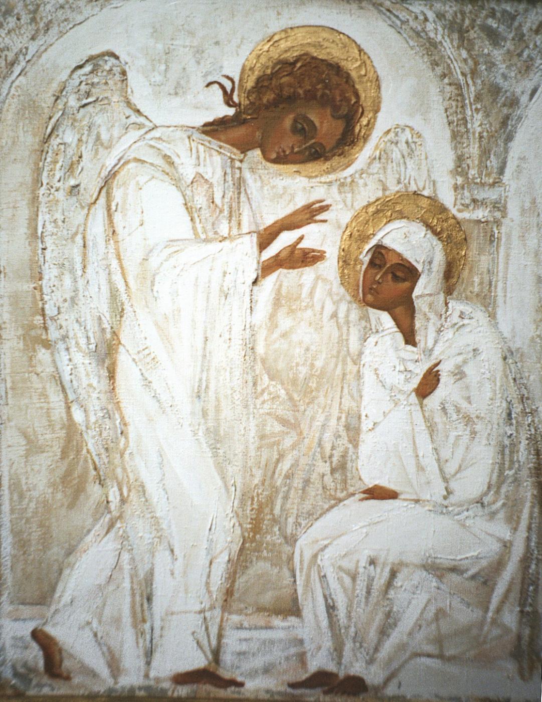 Mikhail Sergeevich Smirnov. The Annunciation