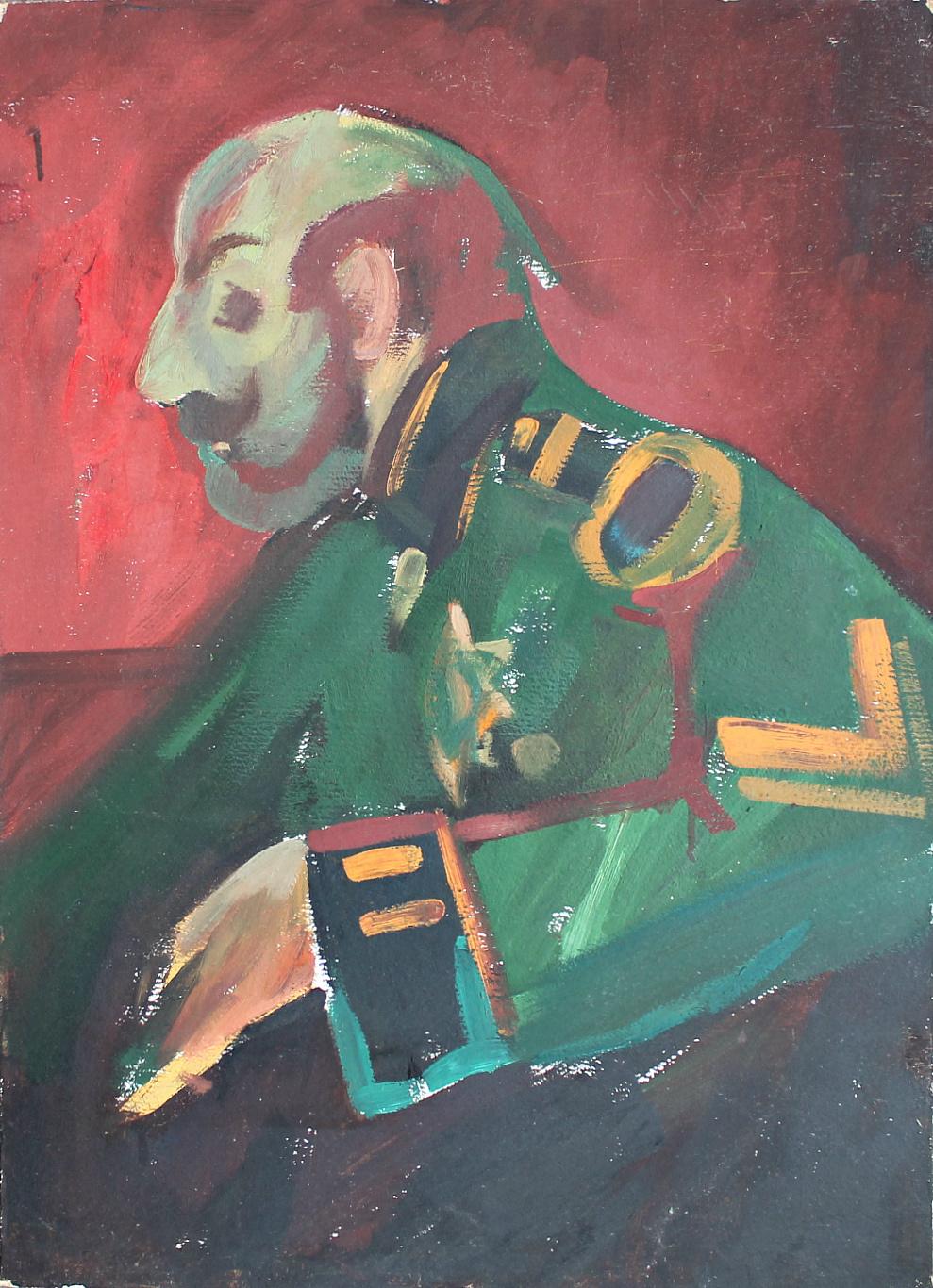 Alexander Aleksandrovich Akimov. Portrait of an official