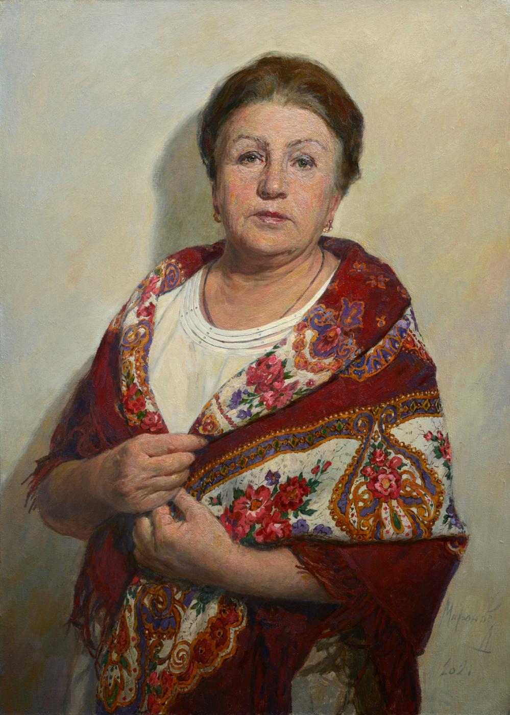 Andrey Nikolaevich Mironov. Портрет мамы