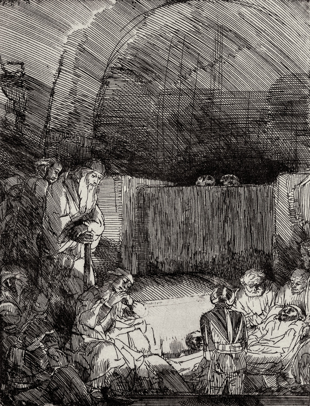 Rembrandt Harmenszoon van Rijn. Entombment