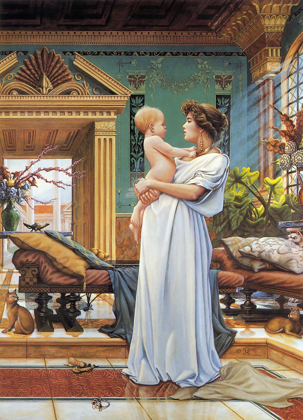 David Cherry. Motherhood