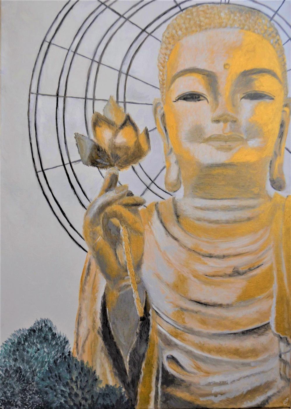 Anastasia Sizykh (Sadovenko). Buddha in Dalat