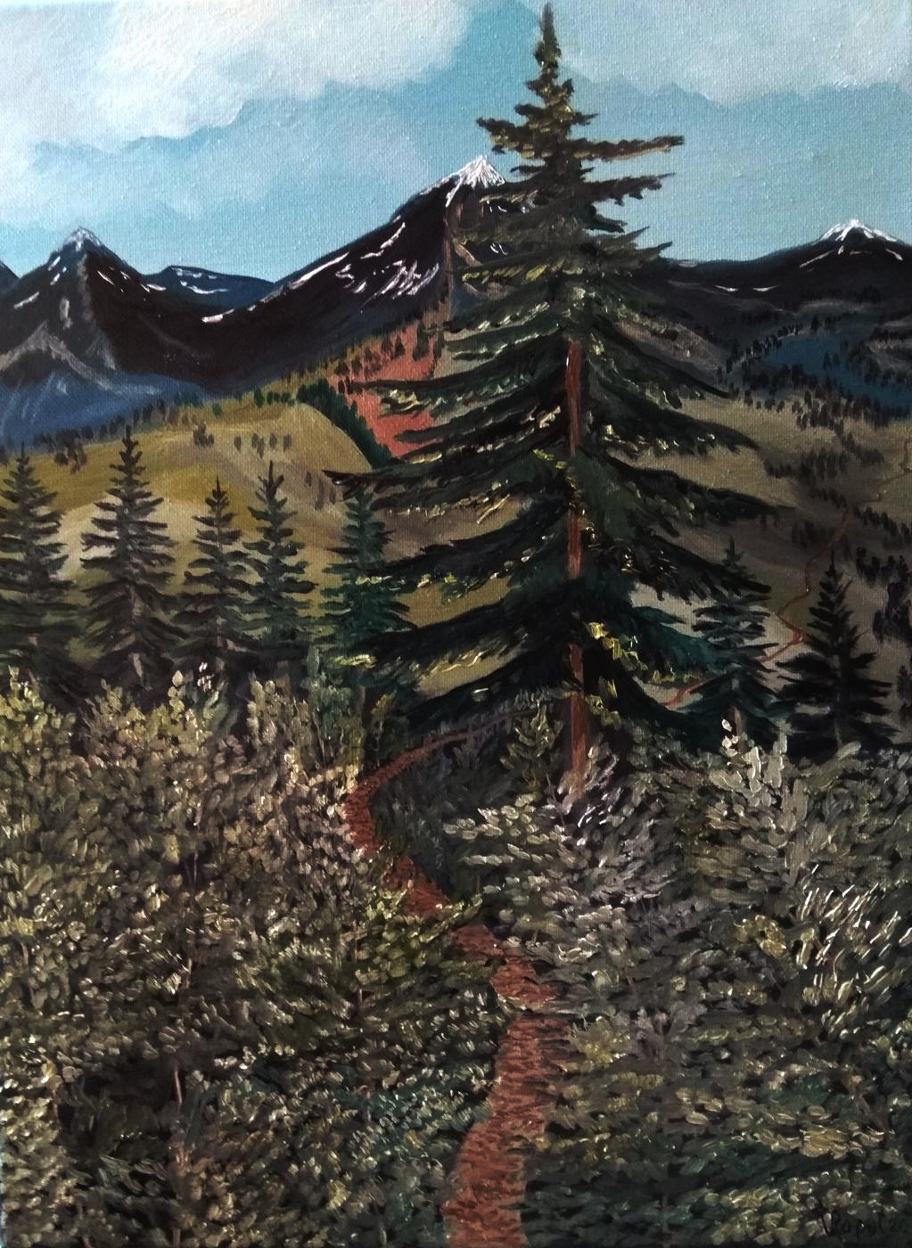 Vladimir Ropot. Mountain trail