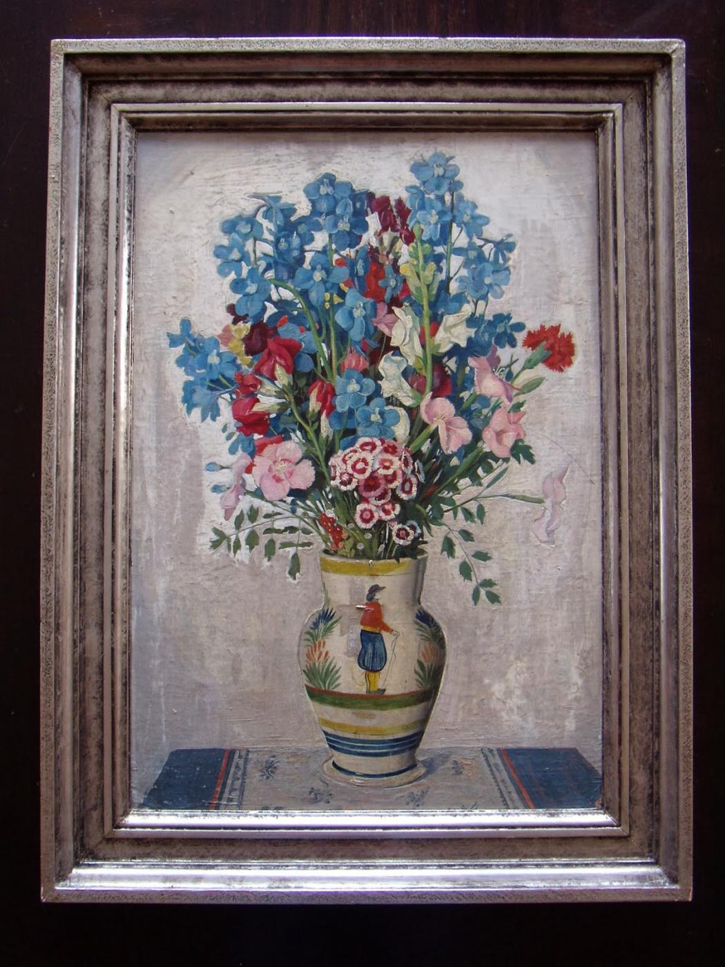 Ulrik Hendriksen. Still life with flowers.