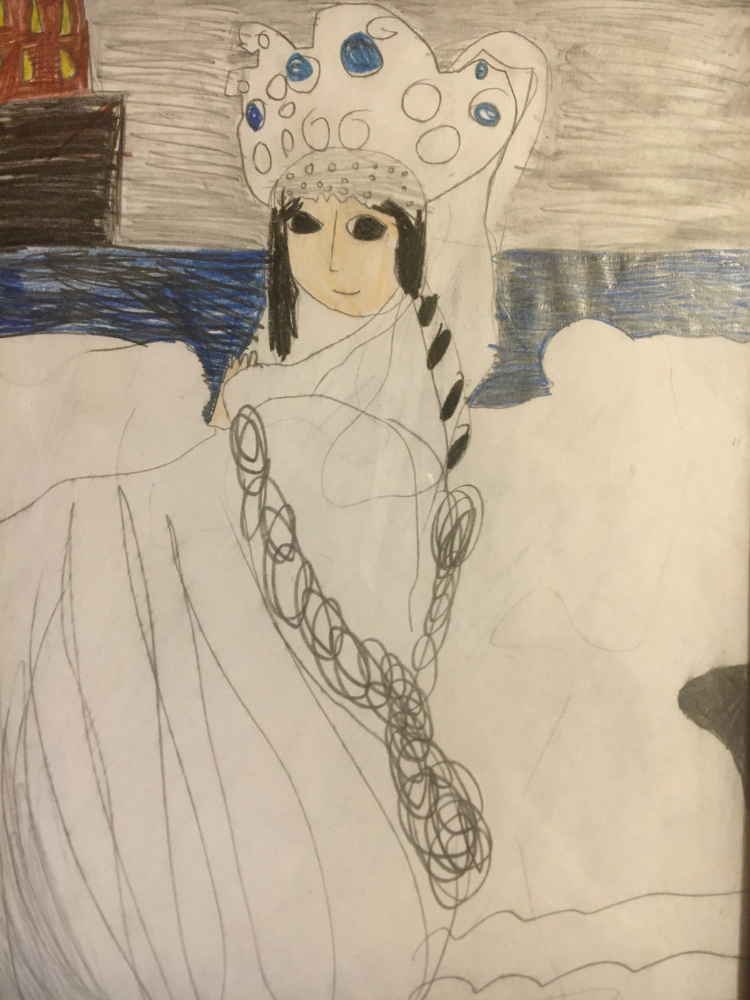 Alexandra Zakharyan. The Swan Princess. Gift for Mom. According to M. A. Vrubel