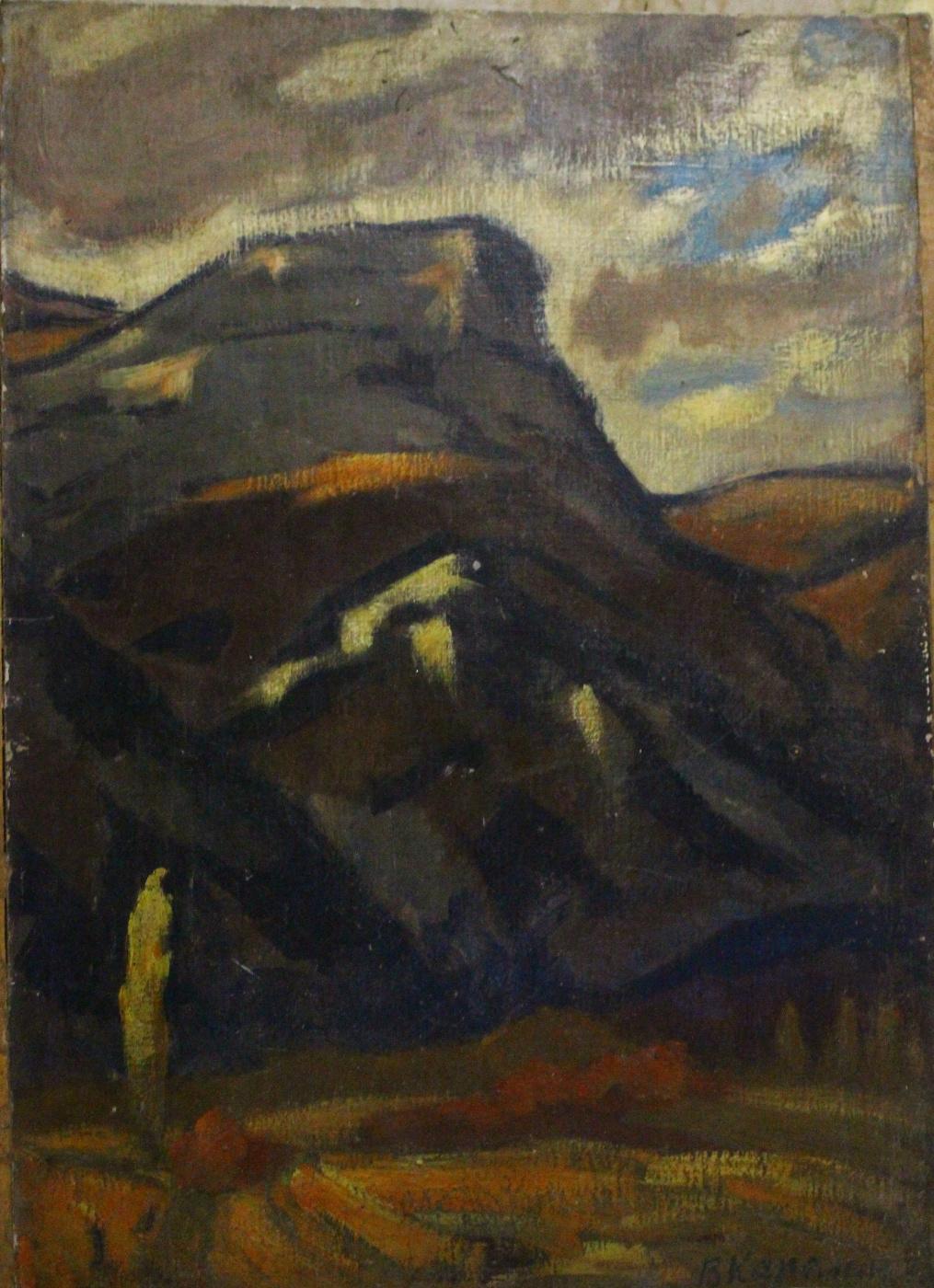 Vyacheslav Dmitrievich Karelin. Gorge