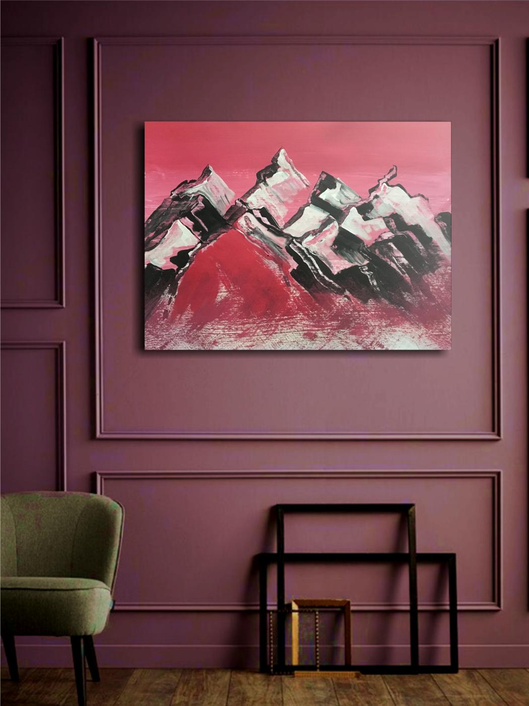 Julia Rashidovna Akhmetova-Walter. Mountain