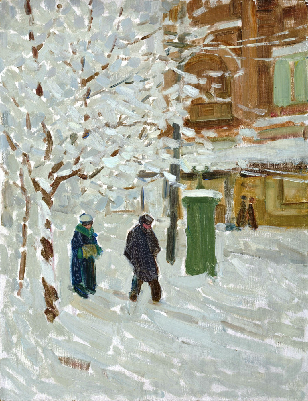 Helen Galloway McNicoll. Montreal in winter