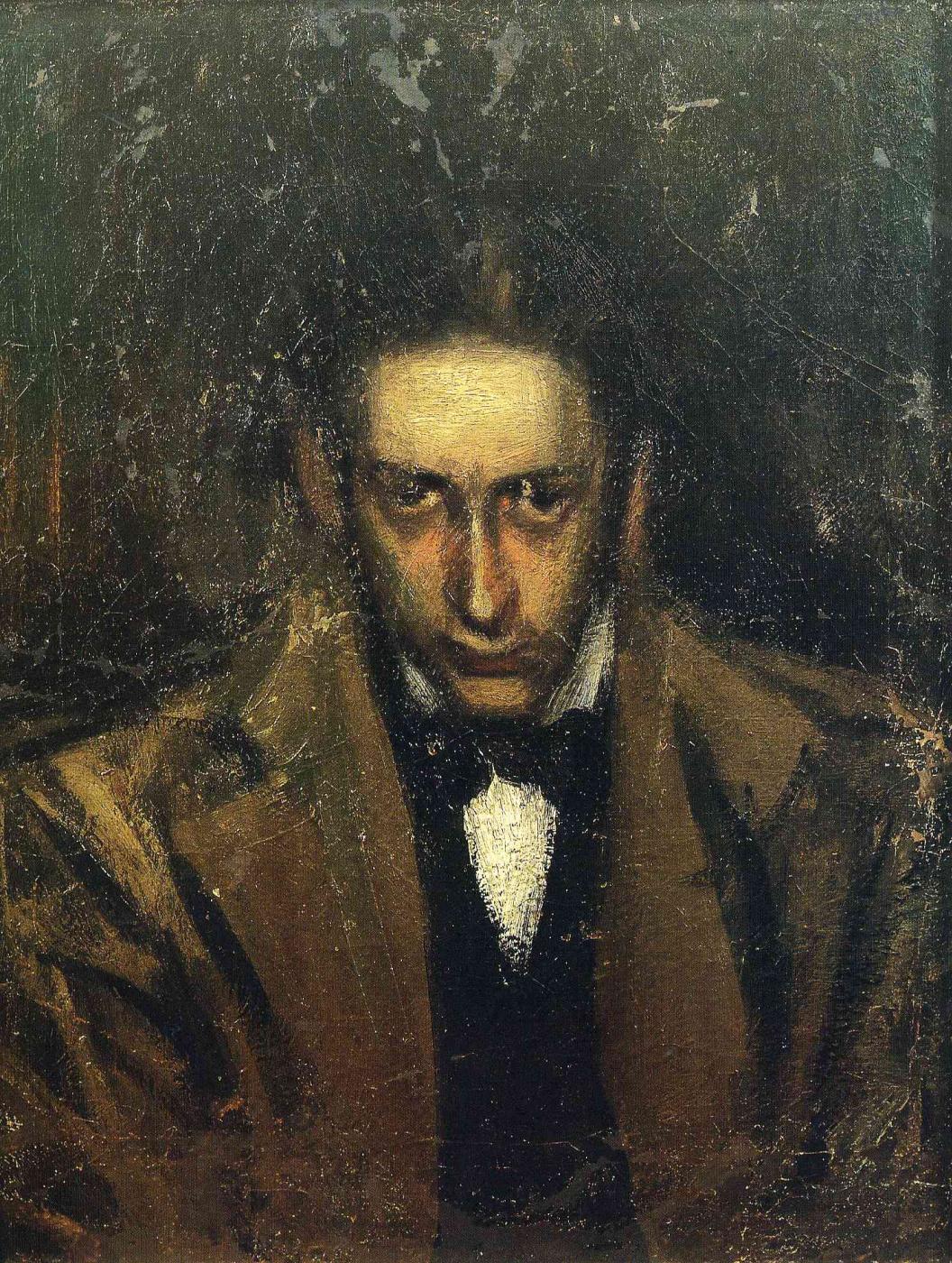 Pablo Picasso. Portrait Of Carlos Casagemas
