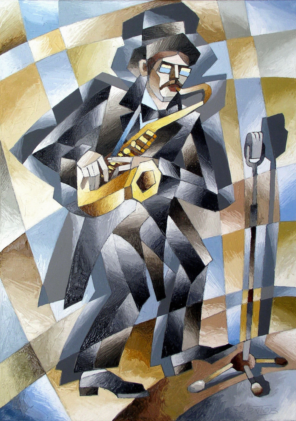 Andrei Ivanovich Saratov. Saxophonist