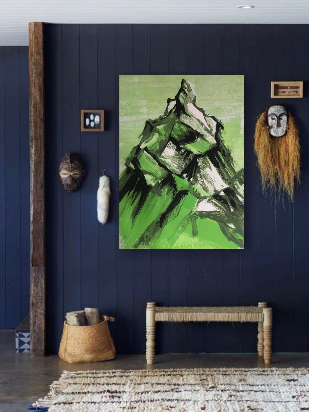 Julia Rashidovna Akhmetova-Walter. Green Mountain