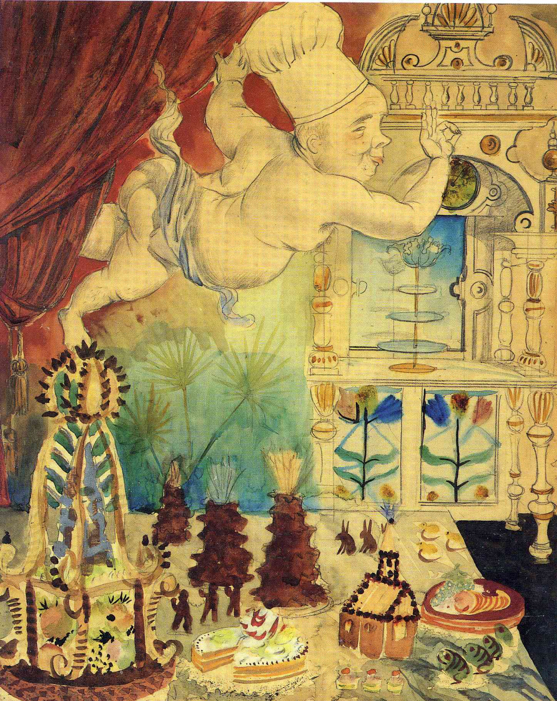 Otto Dix. The God of confectioners