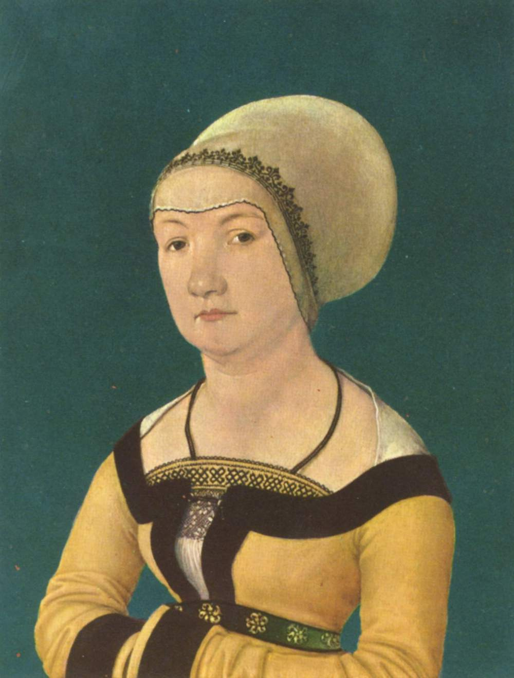 Hans Senior Holbein. Portrait of 34-year-old woman