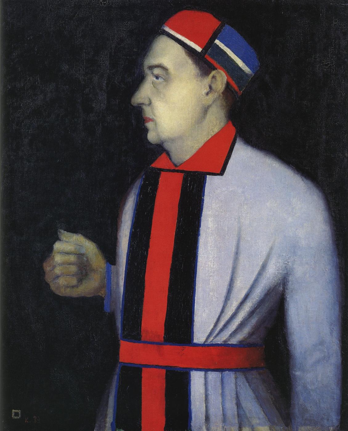 Казимир Северинович Малевич Россия 1879 - 1935. Портрет Н. Н. Пунина. 1933