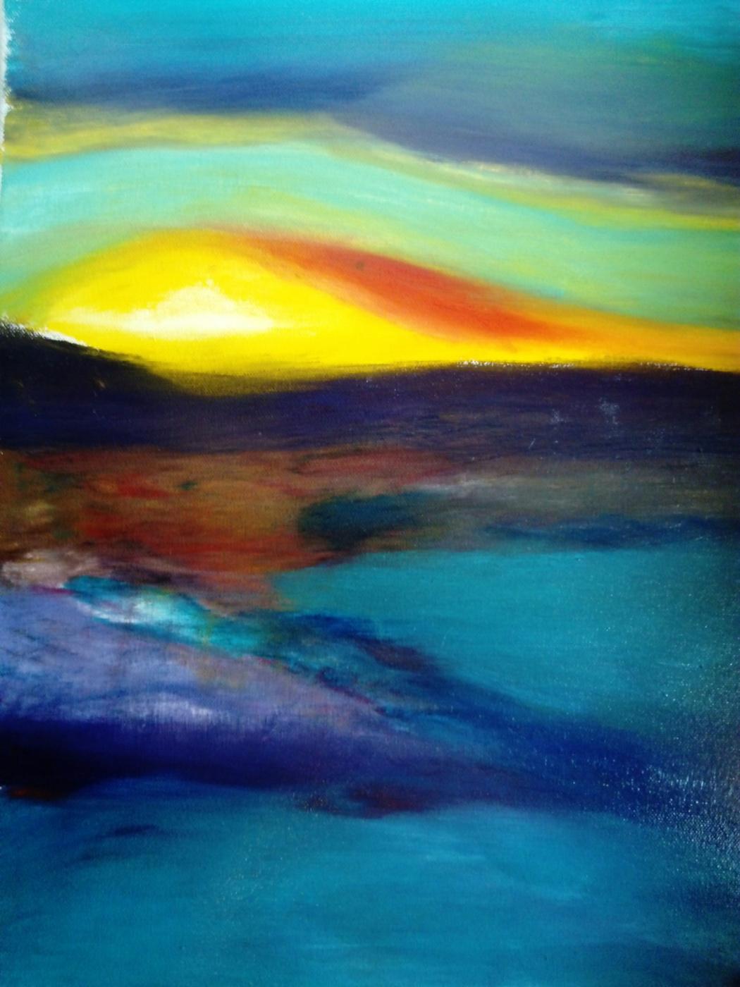 Anton ASIvanov. Fuzzy sunset