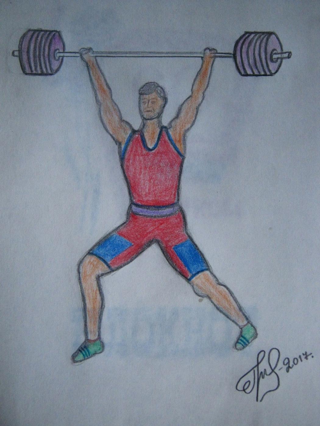 "Алексей Гришанков (Alegri). ""Weightlifter"""
