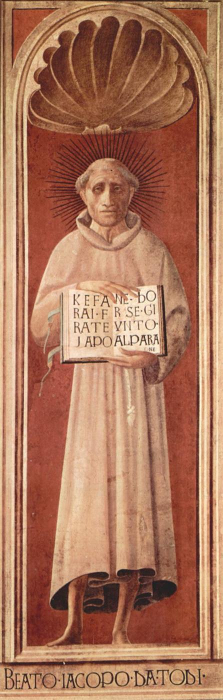 Паоло Уччелло. Фрески из собора в Прато. Св. Иаков из Тоди