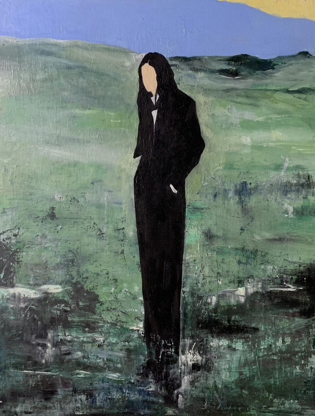 Amina Elbi. Untitled