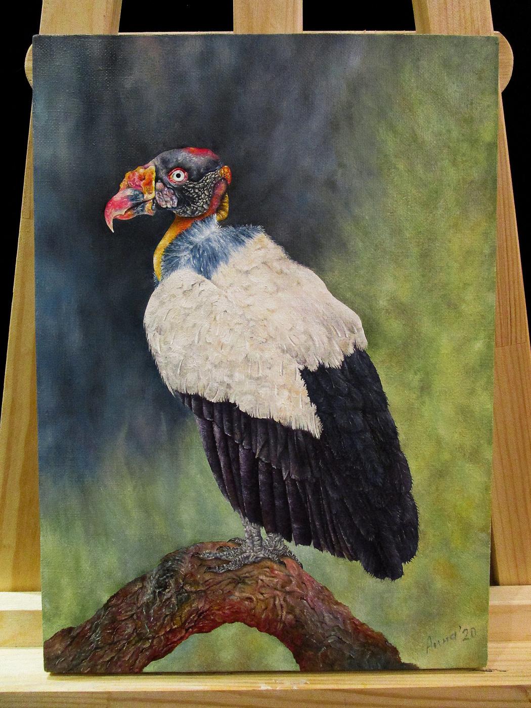 Anna Komovich. Bird