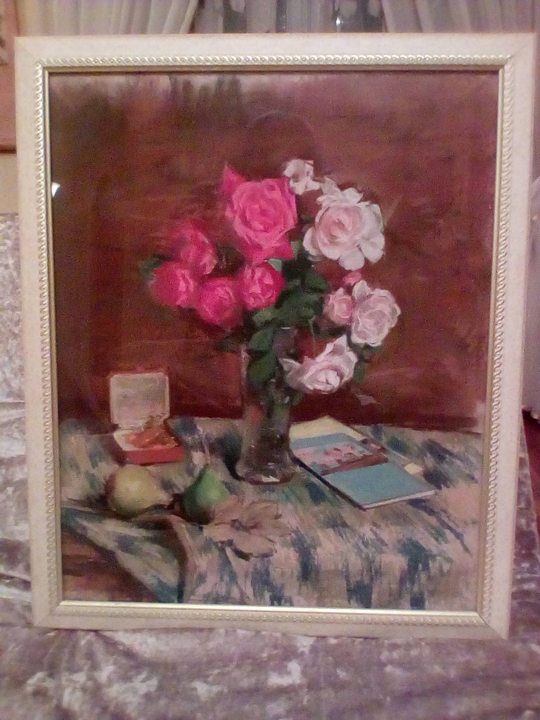 Sergey Alekseevich Petrov. Red and white roses