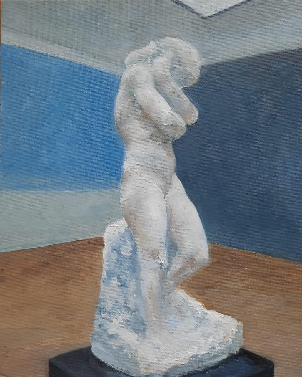 Alexandra Sergeevna Fedulova. Sculpture by Rodin