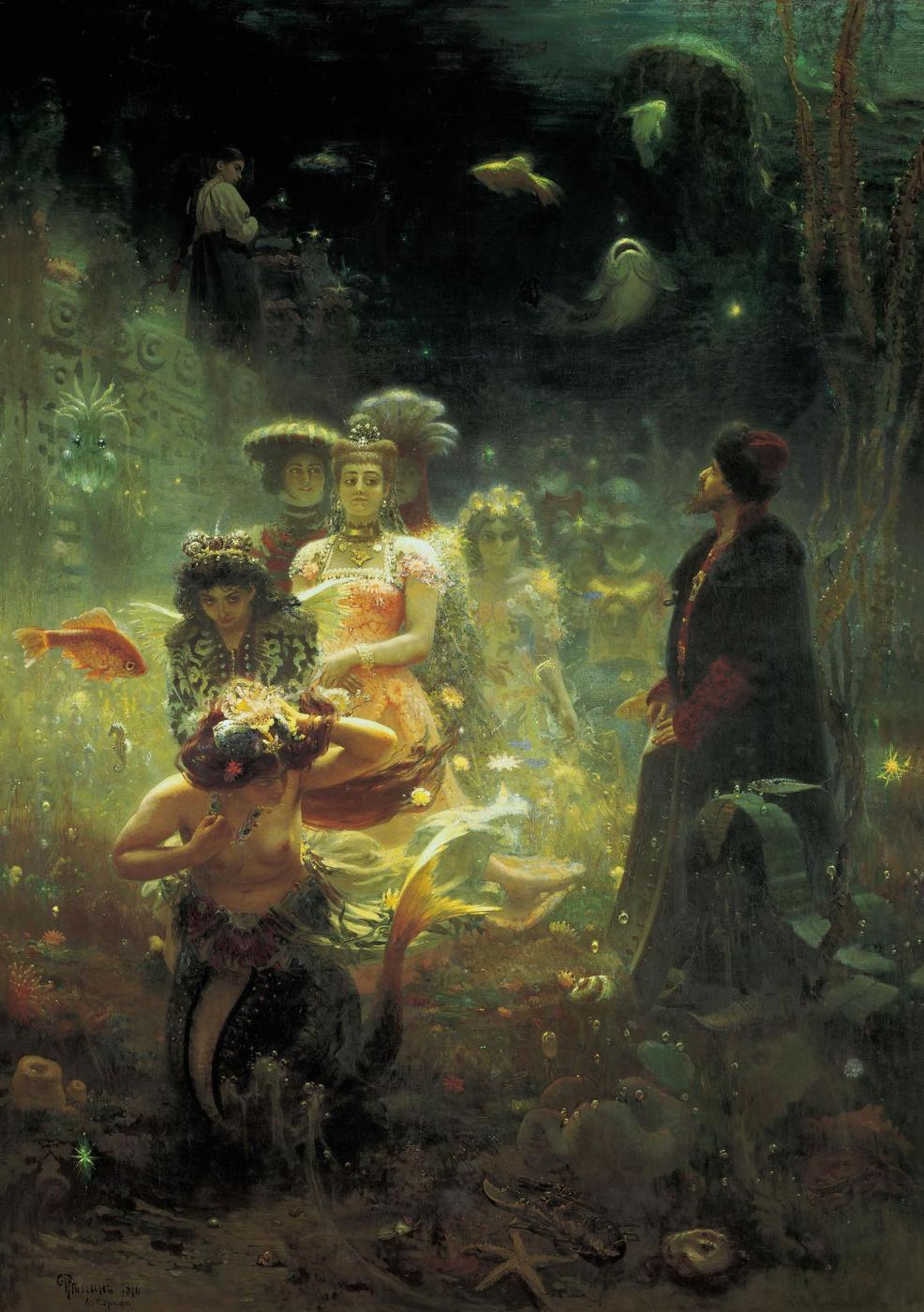 Ilya Efimovich Repin. Sadko