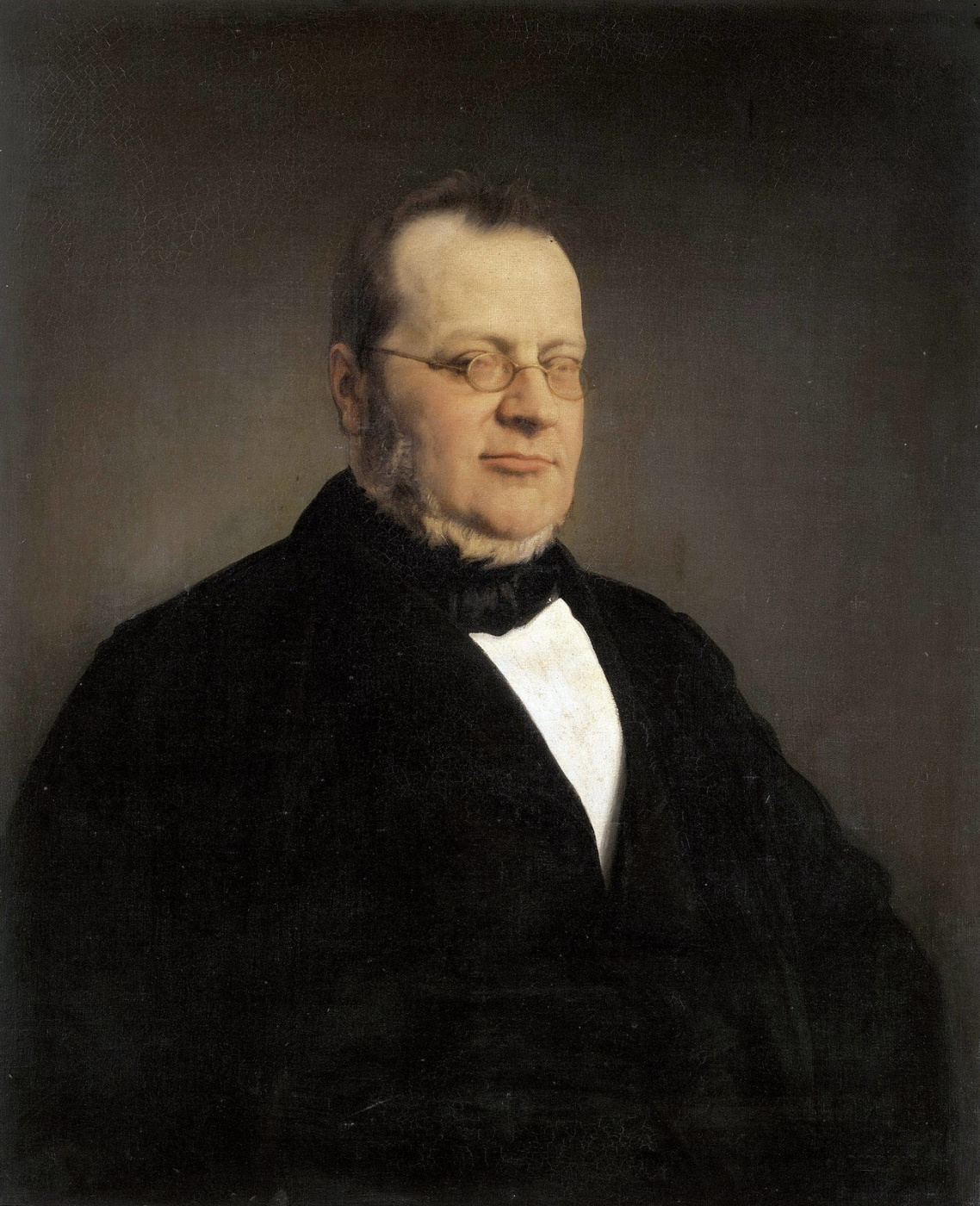 Francesco Ayets. Portrait of Camillo Benso di Cavura