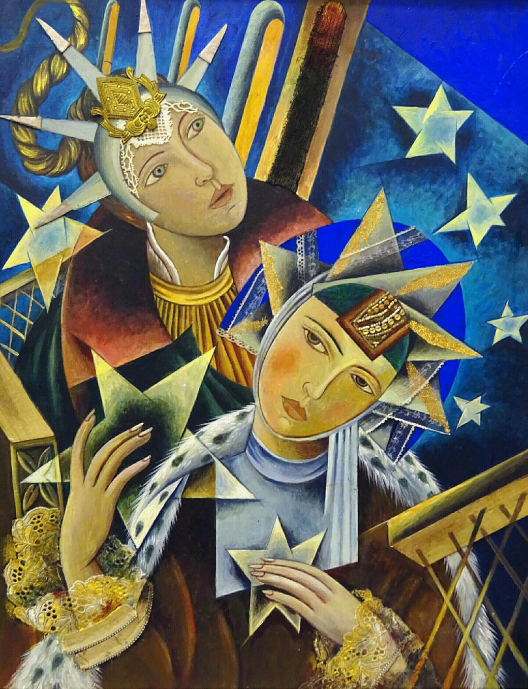 Love Stepunina. Among the stars