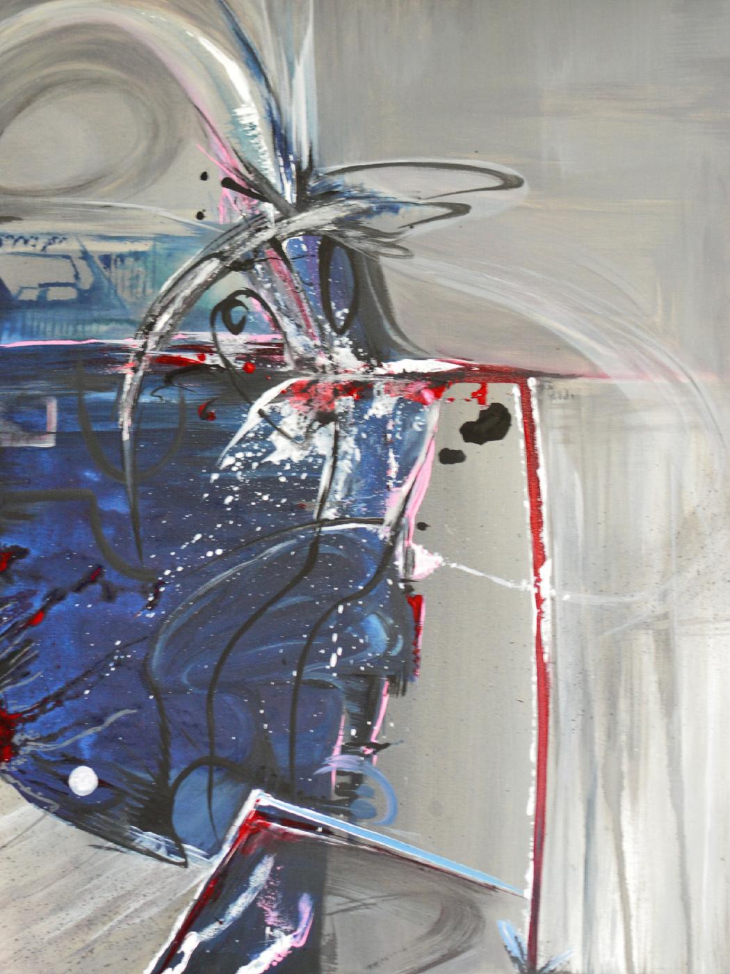 Victoria Rutskaya. Абстрактная картина I Другой выбор Авраама