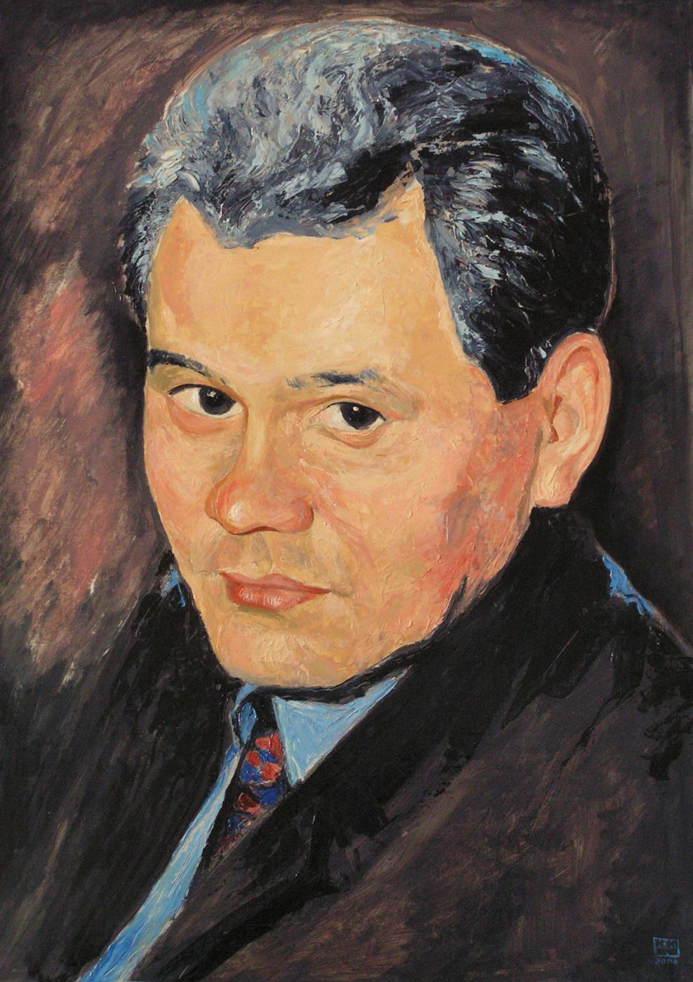 Yuri Petrovich Konnov. Portrait of S.K.Shoigu